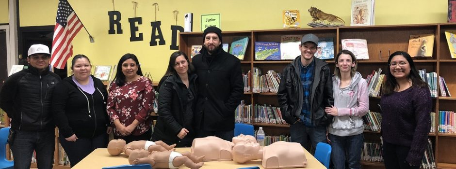 Arcola PreK CPR Workshop